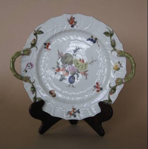 717: 2 pcs of Herend porcelain