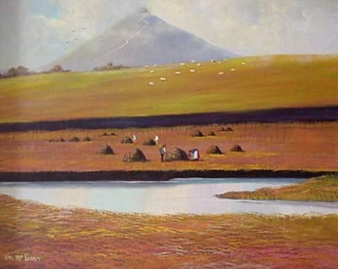 718: Val Mc Gann oil