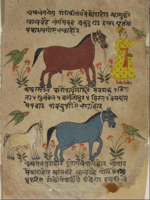 721: 18th c. Eastern Indian manuscript page