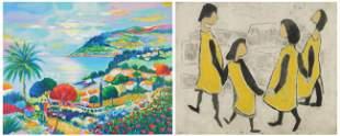 2 Contemporary prints