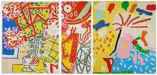 3 Knox Martin lithographs
