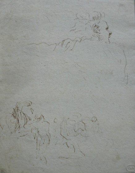 2: 17/18th c. Italian School drawing