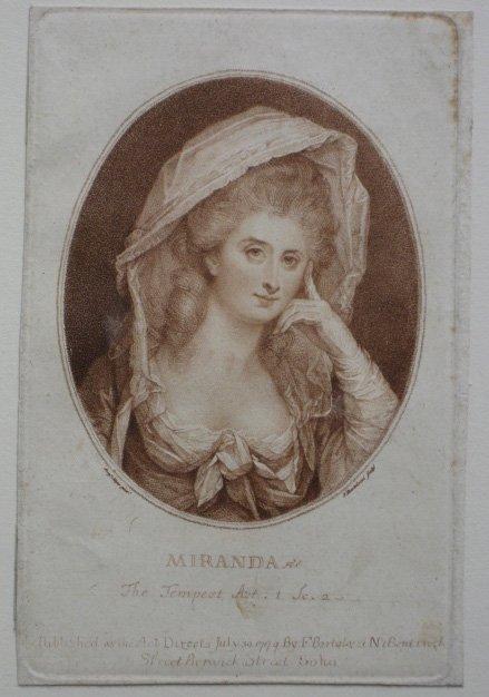 5: Francesco Bartolozzi etching