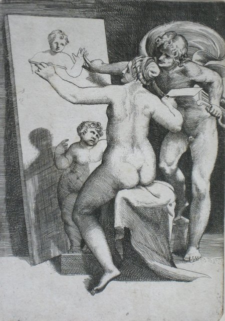 7: Giulio Bonasone engraving