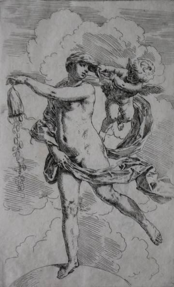 10: Simone Cantarini etching