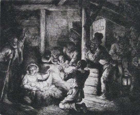 13: Christian Wilhelm Ernst Deitrich etching