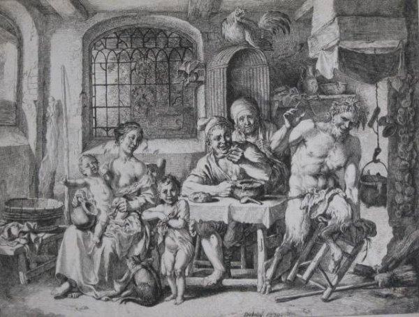 14: Christian Wilhelm Ernst Deitrich etching