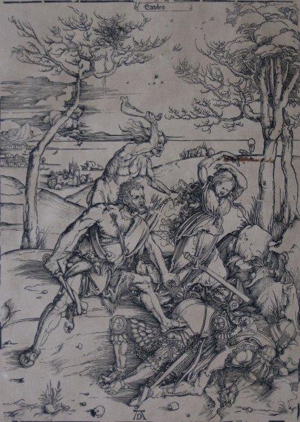 18: after Albrecht Drer woodcut