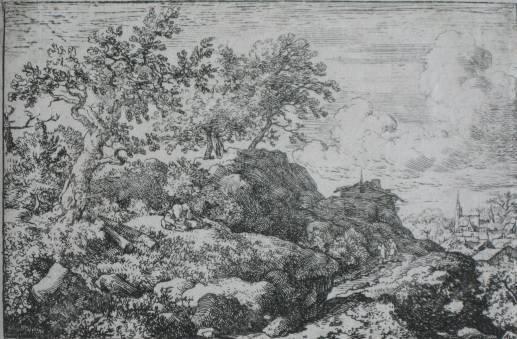 22: Allart van Everdingen etching