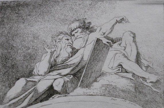 23: Jean Honore Fragonard etching