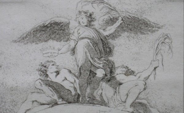 24: Jean Honore Fragonard etching