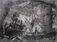 81: Giovanni B. Piranesi etching