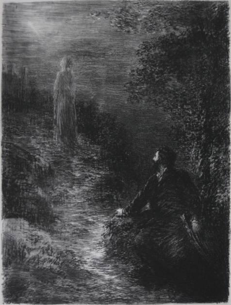 270: Henri Fantin-Latour lithograph