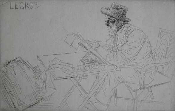 470: William Strang etching