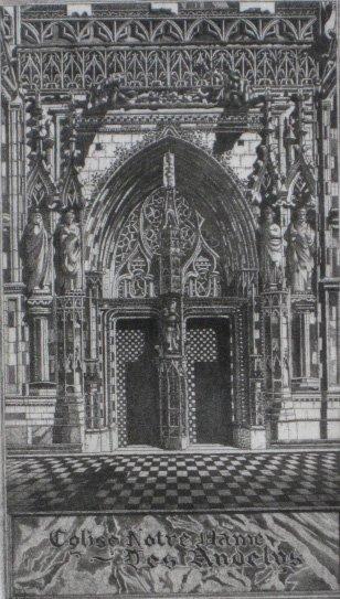 627: John Taylor Arms etching