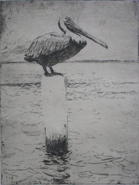 635: Frank Benson etching