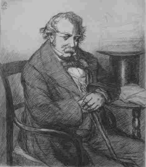 1039: John Sloan etching