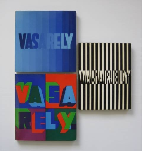 16: 3 Vasarely books