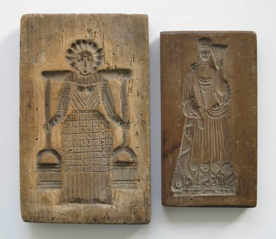 29: 20 wooden cookie molds, 20th c. - 2