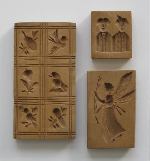 29: 20 wooden cookie molds, 20th c. - 8