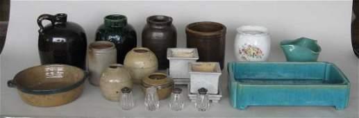 14 Assorted ceramic items