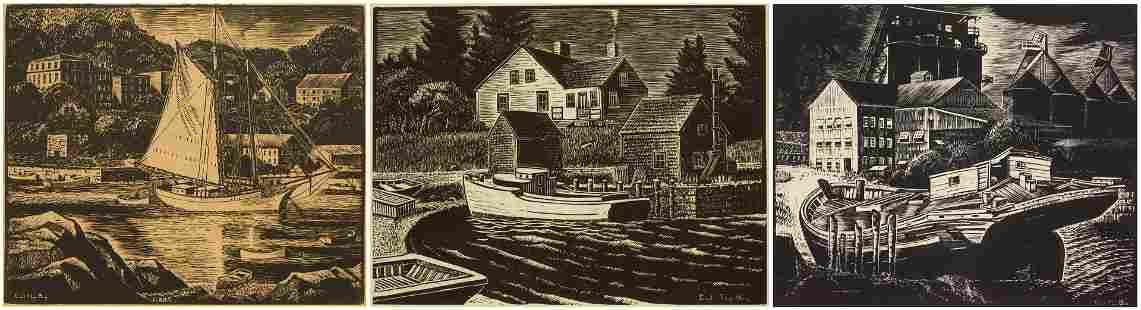 3 Carroll Thayer Berry prints