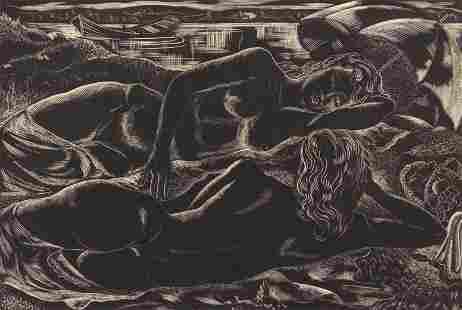 Emil Ganso wood engraving