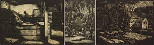 3 Charles Reed Gardner prints
