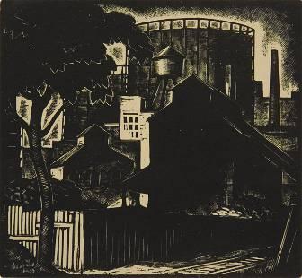 Gregory Orloff woodcut
