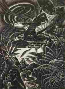 Charles Surendorf wood engraving
