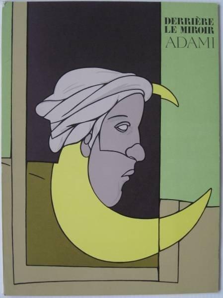 19: Valerio Adami 3 Derriere Le Miroir issues