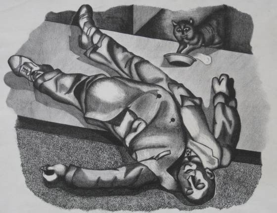 20: Julian Alberts lithograph