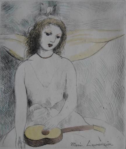 225: Marie Laurencin etching