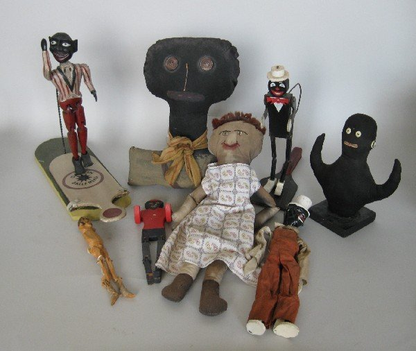 1: Folk art dolls and toys