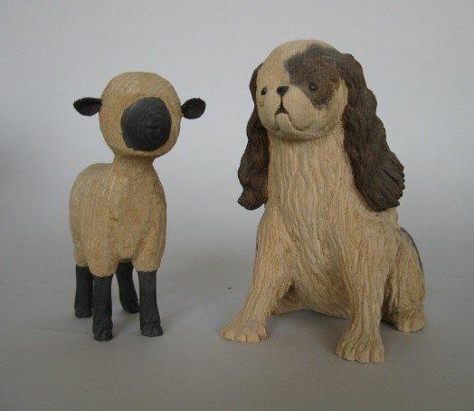 14: Michael Kluck sculptures