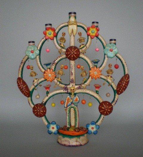 20: Ocuchimo pottery candelabra