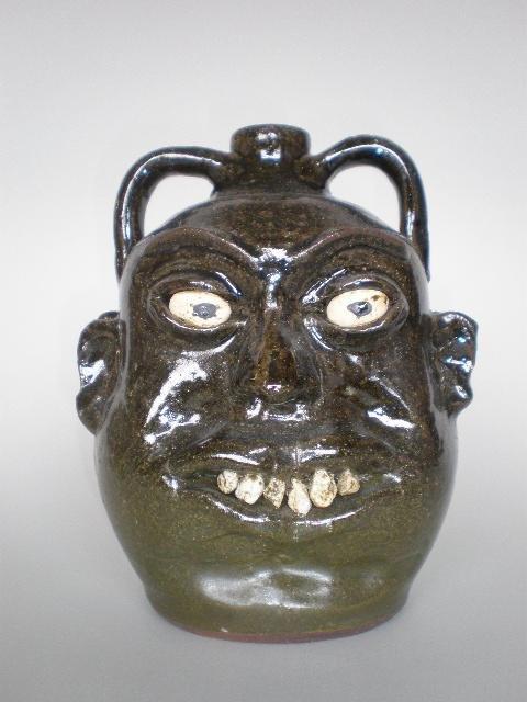 140: Lanier Meaders ceramic sculpture