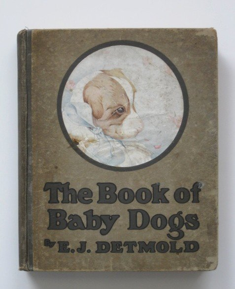 541: Detmold, ill., ''The Book of Baby Dogs''