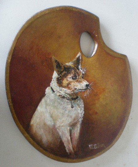 636: M. Miller oil painting