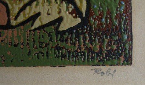 646: Al Robi woodcut - 3