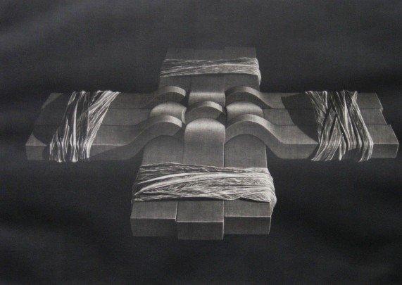 5: Katsunori Hamanishi etching