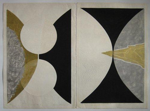 11: Reika Iwami 2 woodcuts in colors