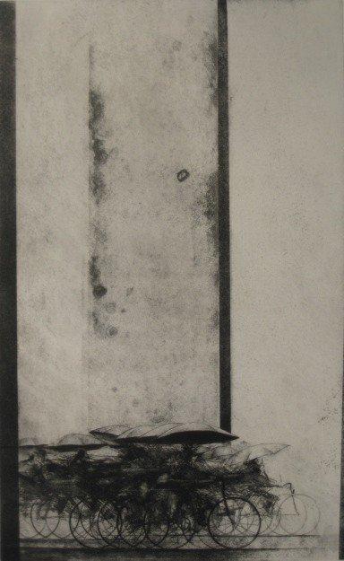 16: Shigeki Kuroda etching