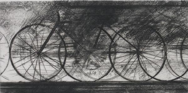 17: Shigeki Kuroda etching