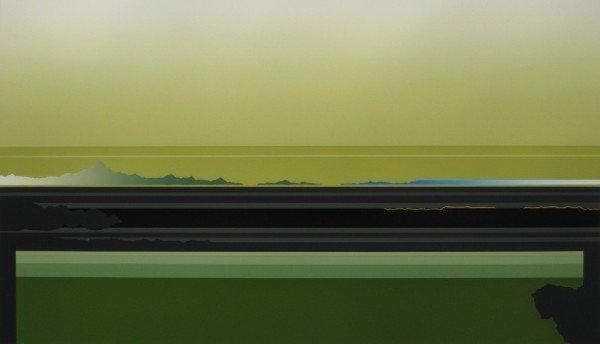 22: Takuro Sawada silkscreen in colors