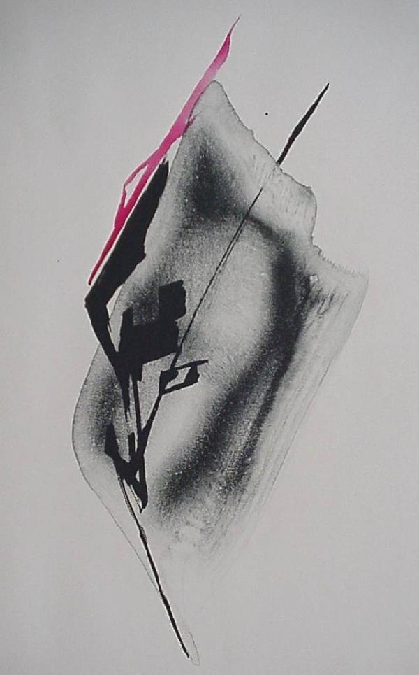 23: Toko Shinoda lithograph in colors