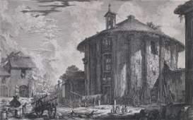 548: Giovanni B. Piranesi engraving and etching