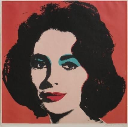 704: Andy Warhol lithograph