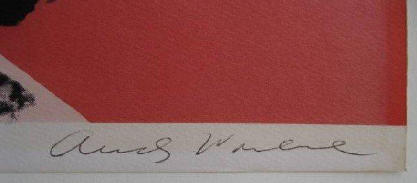 704: Andy Warhol lithograph - 2