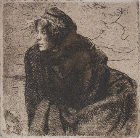 362: Albert Besnard etching